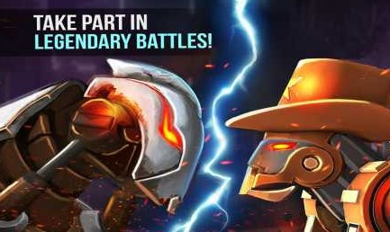 Clash Of Robots 3.3 Apk + Mod Gold for android
