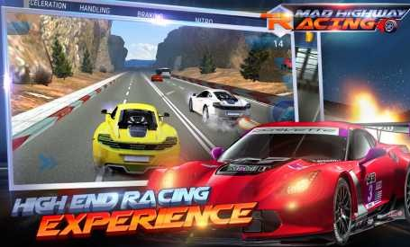 Mad 3D:Highway Racing 1.1 Apk + Mod