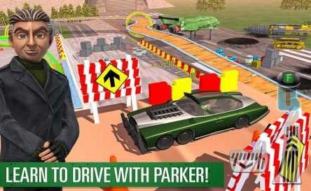 Parker's Driving Challenge 1.1 Apk + Mod
