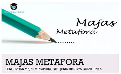 Pengertian Majas Metafora, Ciri, Jenis