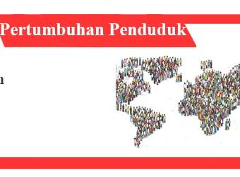 Pengertian pertumbuhan penduduk: faktor, jenis dan contoh